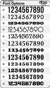 20+ best ideas about Number Fonts on Pinterest ...