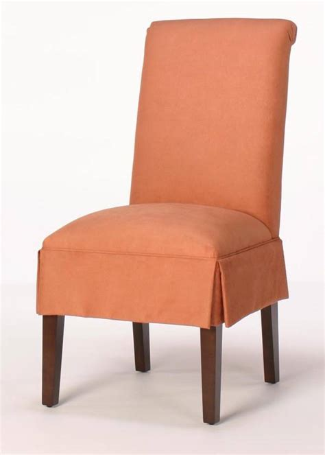 skirted parsons chairs dining room furniture dining room