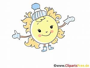 Sonne Im Winter : sonne im winter bild illustration cartoon clipart pic ~ Lizthompson.info Haus und Dekorationen