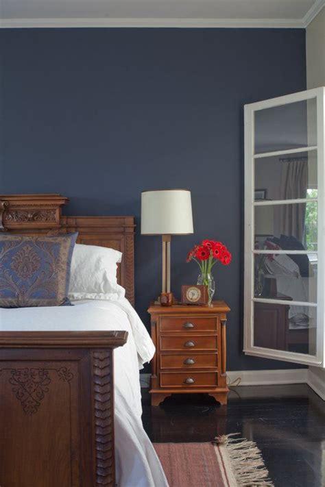 inspiration   midnight blue bedroom