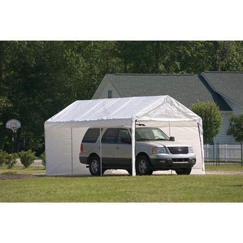 shelterlogic   leg canopy  enclosure kit  garage car shelters