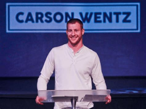 philly eagles quarterback carson wentz grounded