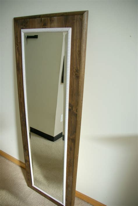 floor mirror frame diy floor mirror frame