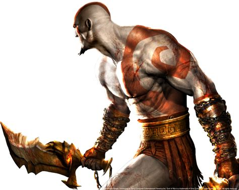 Kratos From The God Of War