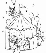 Coloring Pages Printable Circus Juggling Clown Getcolorings Magnificent Stunning Getdrawings sketch template