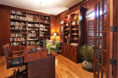 cabinets  office  study  walker woodworking