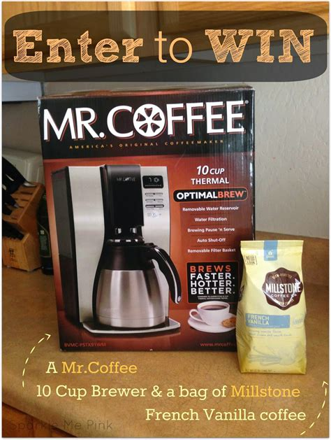 This video will walk you through the steps to create refreshing. Mr.Coffee Giveaway - Some of This and That