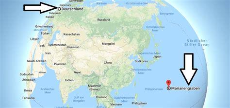 Wo Liegt Marianengraben Wo Ist Marianengraben In Welchem ...
