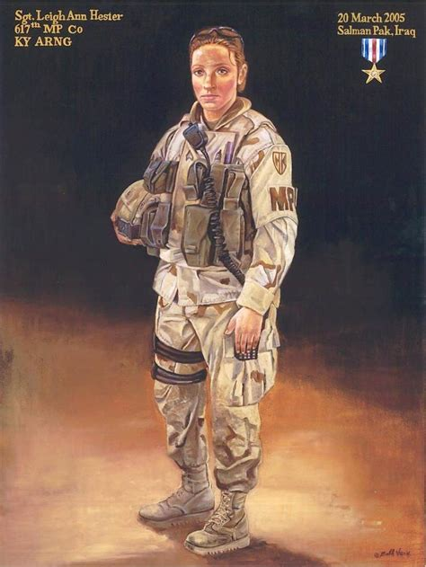 Military Awards And Decorations by Ky National Guard History Staff Sergeant Leigh Ann Hester