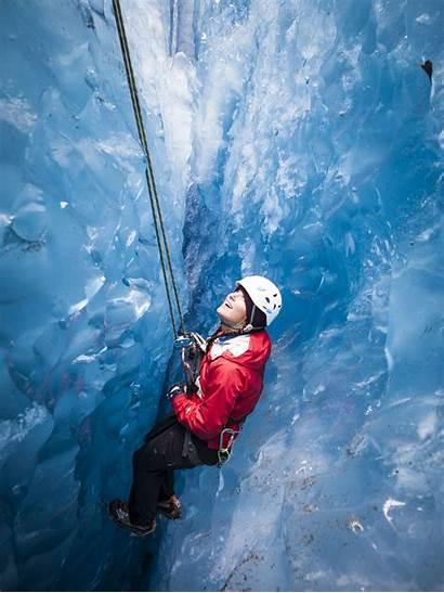 Climbing Ice Adventure Glacier Exit Premier Trip