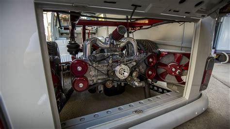 1977 Vw Type 2 Panel Van Ej20 Boxer Powered