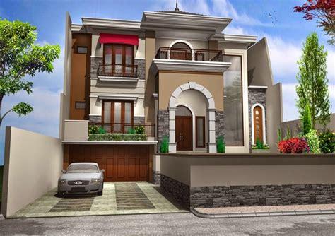 gambar desain rumah minimalis mewah terbaru  info