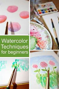 Watercolor Techniques for Beginners - The Craftsy Blog