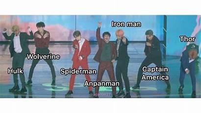 Bts Poses Memes Twerking Jungkook Jimin Superheroes