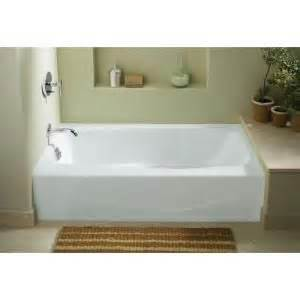 villager 5 ft left drain integral apron cast iron bathtub in white cast iron bathtub