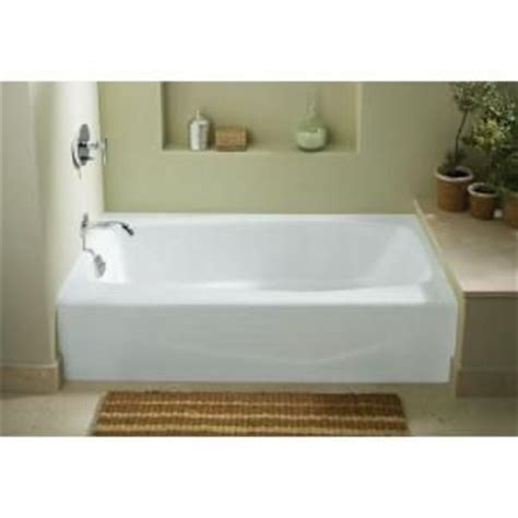 Kohler Villager Bathtub Specs by Villager 5 Ft Left Drain Integral Apron Cast Iron
