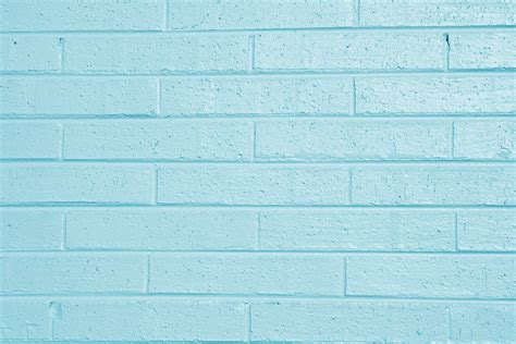 teal blue painted brick wall texture picture free