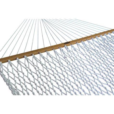 hammock home depot pawleys island 13 ft large polyester patio rope hammock