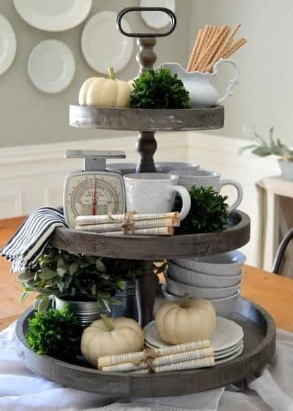 tier serving tray stands beautiful ideas  decorate  diy