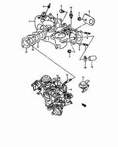 Intake Manifold And Carburetor For  Super