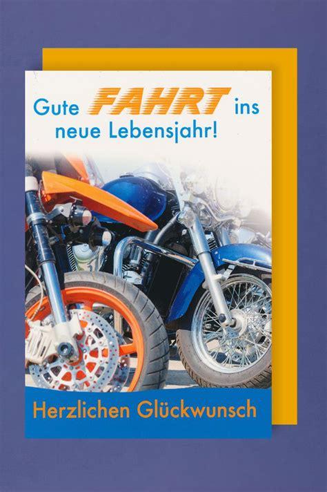 maenner karte geburtstag biker motorrad reise xcm