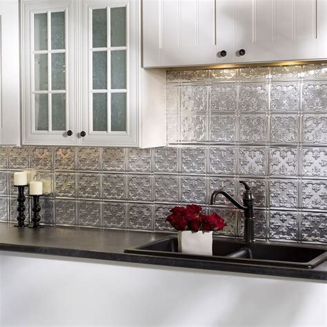 Kitchen Backsplash Panel by The Backsplash Panels Are Easy To Install And Can Be Cut