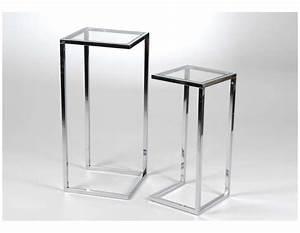 Sellette Pour Plante : sellette en verre trouvez le meilleur prix sur voir ~ Premium-room.com Idées de Décoration