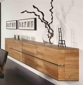 Hngeboard Sideboard Hngeschrank Wohnzimmer Asteiche