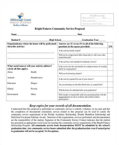 46 Sample Proposal Forms  Sample Templates