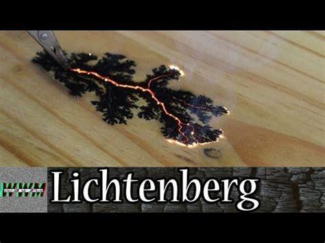 wood burning  lichtenberg figures high voltage