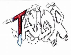 My name in graffiti | First weeks of Art | Pinterest