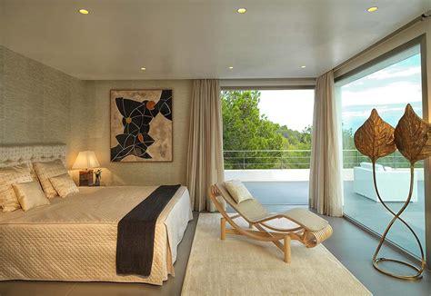 chambre a coucher contemporaine magnifique villa de rêve à l architecture contemporaine