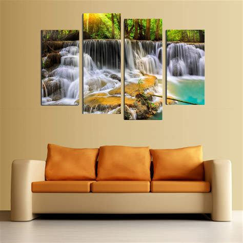 4pcs Waterfall Combination Painting Printed On Canvas. Boston Hotel Rooms. Elegant Dining Rooms. 50th Anniversary Decorating Ideas. Waiting Room Bench. Living Room Accent Furniture. Affordable Decorative Pillows. Breast Cancer Awareness Decoration Ideas. Whole Room Heater