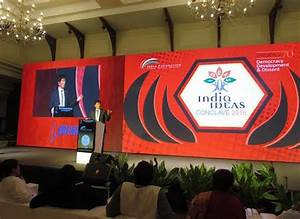 Sikyong Addresses 3rd India Ideas Conclave at Goa ...