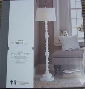 Threshold floor lamp glass shade replacement gurus floor for Threshold arc floor lamp shade replacement