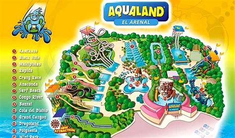 park wodny aqualand na majorce majorka baleary