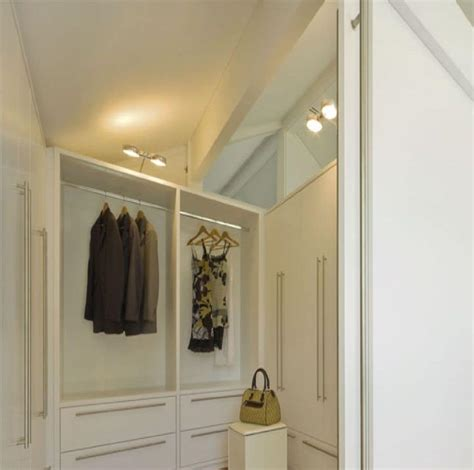 Walk In Closet Furniture by Walk In Closet Painted White With Modular System Of