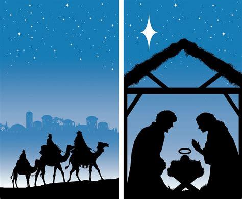 religious theme decoration  christmas patio yard