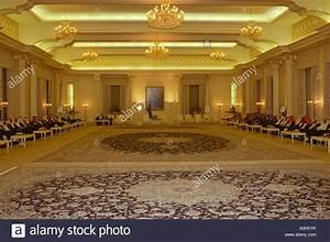 Interior Of King Fahds Royal Palace In Riyadh  Saudi Arabia Stock Photo  10019958