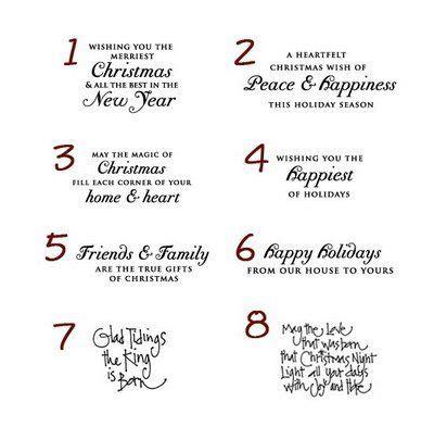 christmas card verses ideas  pinterest