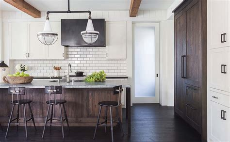 Country Style Kitchens Ideas - modern farmhouse style with timeless interiors in northern california