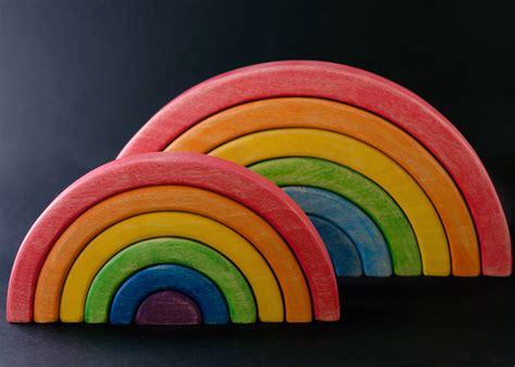 larcobaleno steineriano imparare forme  colori