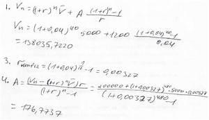 Kapitalwert Berechnen Formel : doppelpost einfache investitionsrechnung ~ Themetempest.com Abrechnung