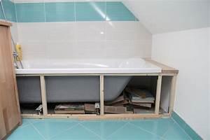 Tablier Pour Baignoire : comment fixer un tablier de baignoire ~ Premium-room.com Idées de Décoration
