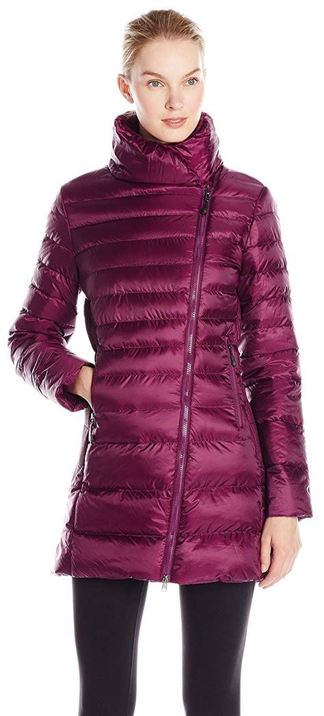 nylon champion jacket zip ladies clothing performance synthetic down asymmetric womens visuall