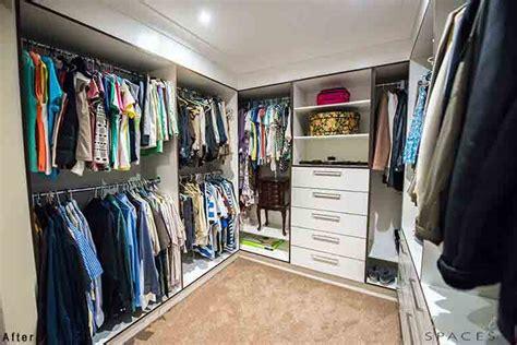 castle hill master bedroom walk  robe  storage