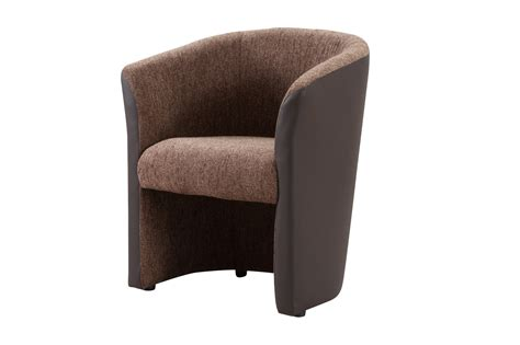chaise monsieur meuble fauteuil cabriolet tissu coloris brun choco dolly