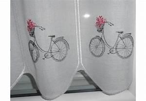 Brise Bise Au Metre : rideau brise bise au m tre motif couleur v lo fabriqu ~ Dailycaller-alerts.com Idées de Décoration