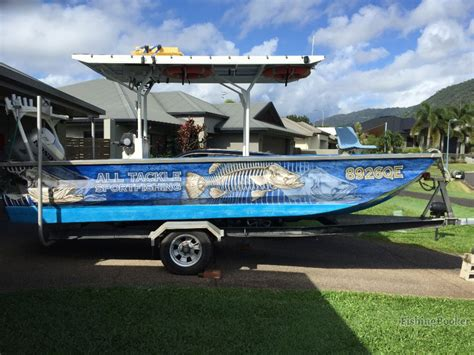 Custom Boat Covers Cairns by All Tackle Sportfishing Cairns Australia Fishingbooker