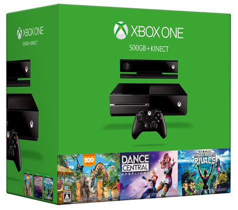 xbox kinect bundle 500gb sports dance central zoo games tycoon rivals game three pxp3 vg247 handheld portable system